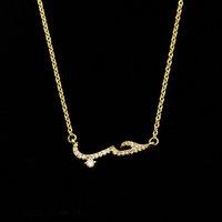 Designer Necklace Luxury Jewelry Love In Rose Gold Arabic Women's Fashion Boho Spiritual Rune Chocker Collier Femme Bijoux Bridesmaid Gift B