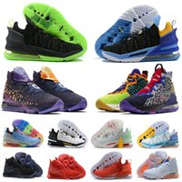 Siyah Altın Beyaz La James 18 Lebron 18s Erkek Basketbol Ayakkabıları İmparatorluğu Yeşim AS EP Monstars Gong Xi Fa Cai CNY Seçilen Üniversite Kırmızı Lakers Dunkman Spor Spor Sneakers