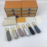 Tasarımcı Unisex Moda Halat Mektup Anahtarlık Aksesuarları Anahtarlık Mektuplar Lüks Desen Araba Anahtarlıklar Takı Hediyeler Kutusu Ile