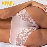 Женские трусики XPay сексуальные женщины кружева нижнее белье бесшовные дышащие полые трусы женщины нейлоновое нижнее белье 2021