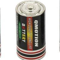 Battery Secret Stash Diversition Box Pill Box Dimensione media ERB TABACCO STOCCAGGIO STOCCAGGIO JAR nascosto contenitore dei soldi 25x49mm in lega di zinco Stash 451 R2
