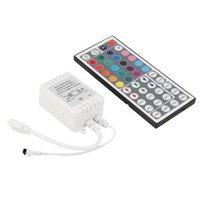 Controlador LED 44 Teclas LED RGB Lights Controllers IR Dimmer Remoto DC12V 6A para RGB 3528 5050 LED Strip