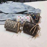 2021 مصمم الاطفال بو حقيبة الكتف الأزياء فتاة رسول الخصر أكياس الصدر الاتجاه حقائب صغيرة محفظة حمل للأطفال G32PIWI