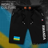 Plus M-8XL Rwanda Rwandan Rwandese Mens Shorts Beach Man men's Board Shorts Flag Workout Zipper Pocket Sweat 2021 Cotton RWA H0913