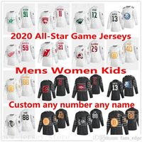 2020 All-Star Hockey Game Jerseys David Pastrnak Tuukka Rask Mathew Barzal Mackinon Giordano Kane Bertuzzi Huberdeau Palmieri Staal Weber