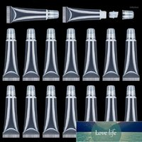15ml lip gloss tubes Lip Soft Hose Makeup Squeeze Sub-bottling Clear Plastic Gloss Tube Container DiY Make Up1 Factory price expert design Quality Latest Style