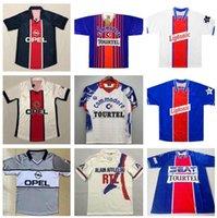 1993 1994 ريترو باريس أنيلكا أوكوتشا ويل لكرة القدم جيرسي 12 13 95 99 قميص ابراهيموفيتش الكلاسيكي لكرة القدم