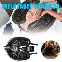 Inflatable PVC Portable Shampoo Bowl Wash Head Basin Without Salon Chair Cutting Hair For Pregnant Bath Accessory Set