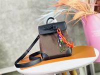 Дизайнер роскошный пароход Nano Crossbody сумка M80327 Schoolbag Mini рюкзак