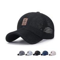 chapeau de baseball chapeau adulte maille d'été baseball chapeau de chapeau de filet féminin respirant chapeau de chapeau soleil