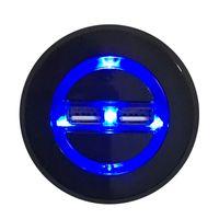 Accessoires de meubles Big ronds Boutons côté rond avec téléphone intelligent ports de charge USB Ports de chargeur Rétro-éclairage bleu Lit électrique Powered inclinable canapé chaise