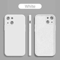Cell Phone Cases original luxo quadrado líquido silicone caso de telefone para for iphone 13 12 11 pro max mini xs xr x 8 7 se2020