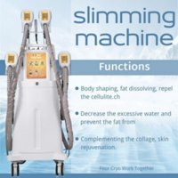 High Quality !!! 2021 Best Selling 4 Handles Cryolipolysis Slimming Freeze Fat Loss Weight Cool Sculpting Beauty Machine For Salon Ce