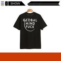 Fransız Sokak Oyları VTM Witterment Mektup Baskı Rahat Gevşek Kısa Kollu T-Shirt 6ENX 6ENX