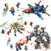 互換スプライシングブロックスーパーヒーロー忍者シリーズ組立モデル玩具子供DIYパズルGFT