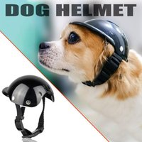Pet Handsome Helmet Funny Hat Dog Motorcycle Abs Cap For Small Medium Dogs Cats Summer Accessories Party Toy Apparel