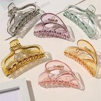 Fashion Hair Graws Coiffeur Crabe Pince de coiffure Grande griffe en plastique Coiffure Outil Coiffure Accessoires pour femmes 6YCXE SSYJT 839 R2