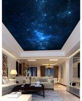Wallpapers Wallpaper Custom 3d Ceiling Murals Dream Sky Frescoes Po Mural Living Room Painting Decoration