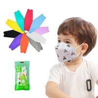 KIDS KF94 Máscara 10pcs / Pack 4 capas Diseñador de máscaras de cara 11 colores