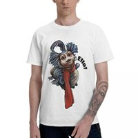 Men's T-Shirts Blue Ello Worm Stuff Merch Shirt 1986 Musical Fantasy Film Labyrinth T For Man Stylish Cotton Round Neck