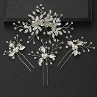 Hair Clips & Barrettes Bridal Headdress Set Pin Hairpin Kit Handmade Exquisite Super Fairy Accessories For Girls Daily Wear BN