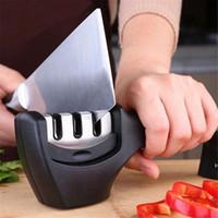 Máquina afiladora de afilado de cocina Máquina de afilado de acero inoxidable Profesional para un cuchillo Afilar herramientas Accesorios de Ware DHB5810