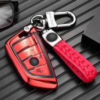 سيارة مفتاح حالة سيارة مفتاح سلسلة سيارة مفتاح حقيبة بي ام دبليو 3 5 7 سلسلة X5 X3 6 سلسلة GT X1،