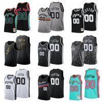 Lamarcus 12 Aldridge 50 Robinson Demar 10 Jersey de baloncesto de Derozan # 00 Nombre personalizado y número STITEED MENS 2021-22 Edición City Jerseys S-6XL