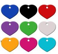 الجملة 100 قطع القلب الحب شخصية الكلب القط الحيوانات الأليفة معرف العلامات مخصصة الحفر اسم الهاتف لا. للكلب الحيوانات الأليفة معرف العلامة الملحقات ج