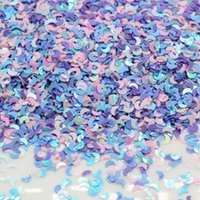 Decorative Objects & Figurines Wholesale 3MM Laser Holographic Silver Stars Glitter Sequins Confetti Nail Star Glitters For Art
