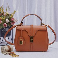 2021 Spring Summer Crazy Sales Fashion C Brand Luxury Shoulder Bag Handbags Classic Original Leather Padlock Key Sets High Quality Designer