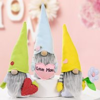 Anneler Günü Cüceler Yüzsüz Bunny Cüce Bebek Tavşan Peluş Oyuncaklar Aşk Anne Çocuklar Hediye Mutlu Paskalya Parti Ev Dekorasyon ZYY783