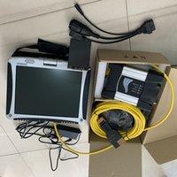 per BMW Scanner 2021-03V per BMW ICOM successivo con software Expert Mode Super SSD con computer militare CF-19 I5 touch screen del laptop