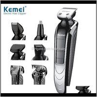 5 في 1 المهنية قابلة للشحن الشعر الانتهازي الطفل الكبار متعددة الجنسية ماكينة حلاقة كهربائية الحلاقة اللاسلكي قابل للتعديل الشعر قطع bagp kfwif