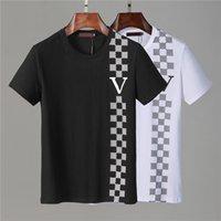 Été Homme T-shirt Homme Casual Homme Femme Tees en vrac avec lettres Imprimez des manches courtes Mode Hommes Shirts Taille M-XXXL