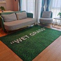WET GRASS Rug Living Room Decoration Carpet Bedroom Bedside Bay Window Area Rugs Sofa Floor Mat