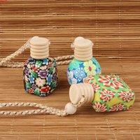 35 unids / lote al por mayor vacío 10ml-15ml botella de perfume suave aroma aroma aceite esencial mujeres recipiente cosmético coche pendantgoods
