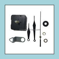 Wall Décor Home & Gardenwall Clocks 10Sets Diy Clock Mechanism Classic Hanging Black 28Mm Quartz Watch Movement Parts Repair Replacement Ess