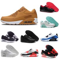 2021 Sports run Shoes 90 Men Women Black White Infrared Recraft Royal Outdoor Classic Sneakers size 36-46