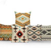 Cushion Decorative Pillow Nordic Style Geometry Cushion Cover Linen Cotton Boho Mandala Home Decorative Sofa Bohemian Throw Case