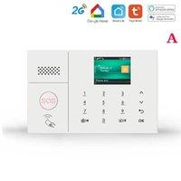 Sicherheitsalarmsystem für Home GSM Wifi Tuya Smart Life App Control Burglar Kit mit Türsensorarbeiten Alexa