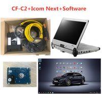 BMW icom NEXT A2 B C mit V03.2021 Software ISTA-D 4.28 P 3.68 in HDD / SSD und gebrauchter Laptop CF-C2 CFC2 I5 für Diagnose Werkzeugscanner