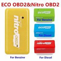 Ferramentas de diagnóstico Nitro Obd2 Ecoobd2 15% Combustível Economize mais Poder Caixa de Tuning de Chip Ecu Nitroobd2 Eco para Diesel Benzine Gasoline PlugDriver