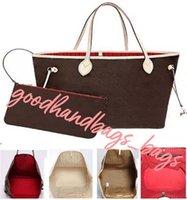 4 colores enrejado 2 unids conjunto de bolsas de hombro de alta calidad para mujer Bolsos de mujer Cintura de lujo Diseñadores Dama Clutch Bolso de moda # 55188