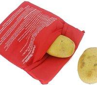 Microwave Potato Cooker Bag Fluffy Bread and Corn Potato Bag Reusable Washable Baked Potato Microwave Baking Bag AHF5937