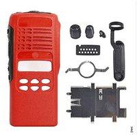 Red Replacement Kit Housing Limited-keypad Case For Motorola Walkie Talkie HT1250 Two Way Radio