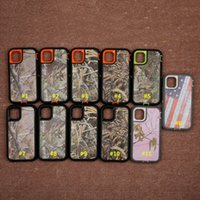 Military Defender Camo Cell Phone Cases for iPhone 5 5S SE 6 7 8 Plus X XR XS 11 12 13 Mini Pro MAX