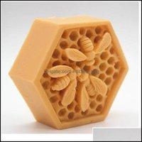 Candles Décor Home & Garden3D Bee Honeycomb Sile Soap Molds Candle Resin Crafts Mod Mousse Fondant Cake Bakeware Decorating Kitchen A Qyliaj