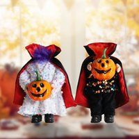 Classic Halloween Headless Pumpkin Doll Ghost Festival Trick Doll Atmosphere Layout Props Dolls Decoration Supplies