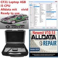 Высокопроизводительная Toughbook CF31 Ноутбук I5 CPU 4GB RAM с 1TB HDD ALLDATA Soft-Ware Mit Vivid Schoolop Установите хорошо